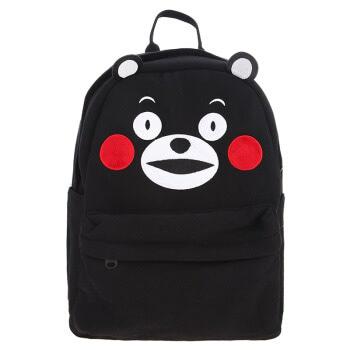 酷MA萌 KUMAMON 日本熊本熊双肩书包 日本热销同款卫衣棉 背包 大童成年人书包 大号双肩包